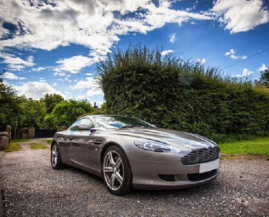 Aston Martin DB9 Hire